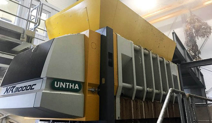 UNTHA ayuda a cerrar el círculo en la producción de papel reciclado