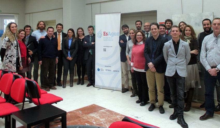 Más de 20 organizaciones se comprometen con la huella hídrica en EsAgua