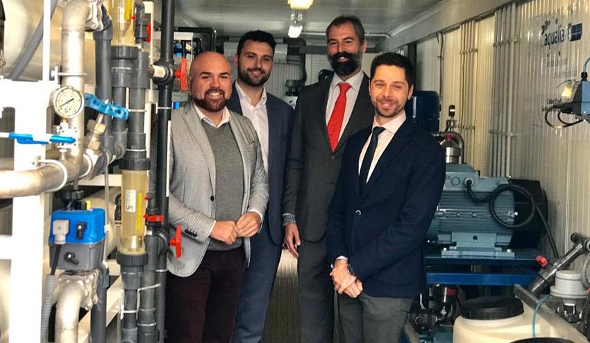 Se presenta en Tenerife un proyecto piloto experimental para la eliminación de nitratos en las aguas