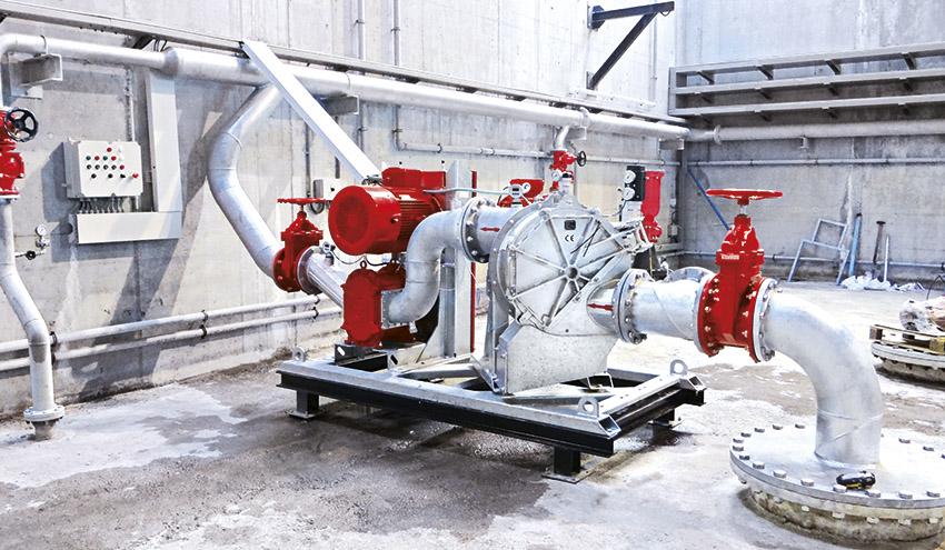 Equipos eficientes y robustos para tanques de tormenta