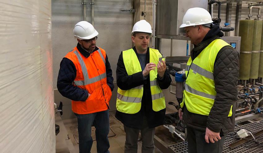 La planta de Caudete cuenta con una depuradora de lixiviados de referencia en la Comunitat Valenciana