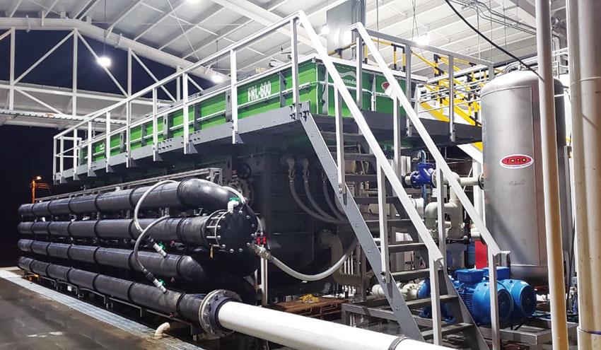 Sistemas de flotación por aire disuelto Anaconda® para la industria alimentaria
