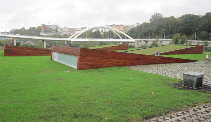 Finalizadas las obras de los nuevos colectores del río Miño en Lugo