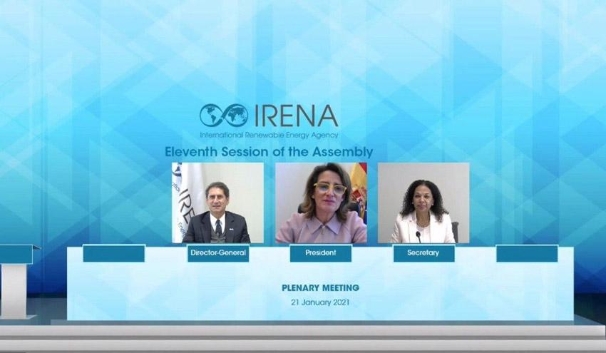 Clausura de la XI Asamblea de IRENA: España impulsa la cooperación para acelerar la transición energética