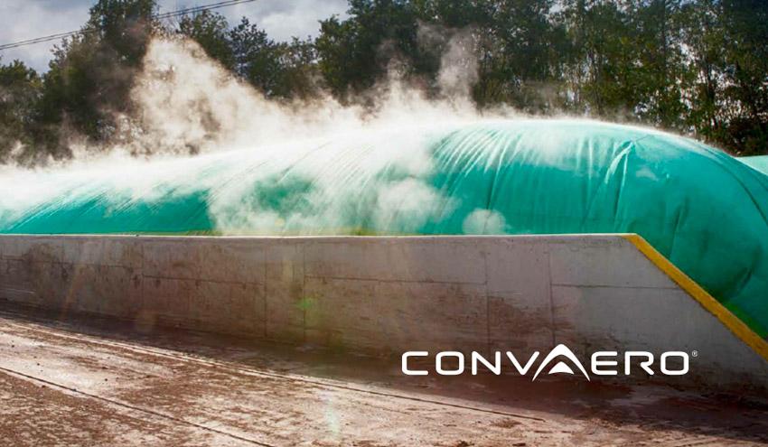 CONVAERO Bio-Dry, el sistema de recubrimiento con membranas para compostaje