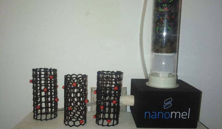 Nanopartículas de melanina fúngica para mejorar la eficiencia de la depuración de agua residual