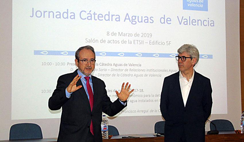 La Cátedra Aguas de Valencia reafirma su compromiso con la formación e innovación
