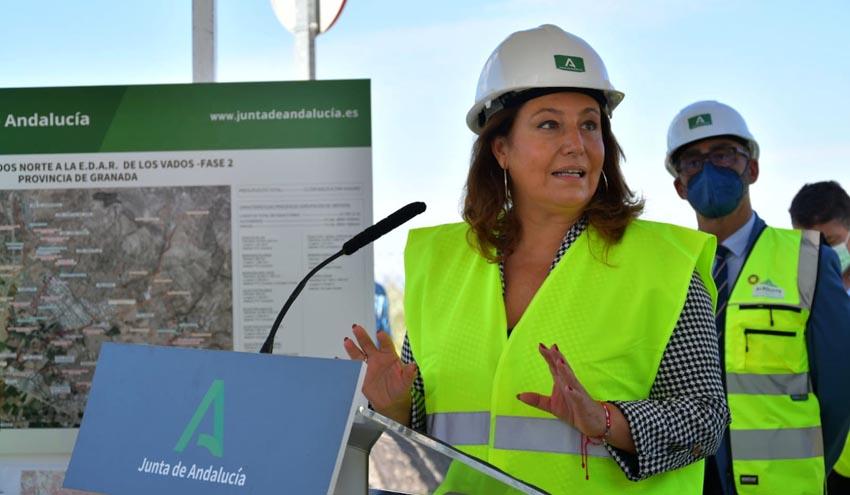 Andalucía tiene en marcha todas las actuaciones de depuración del área metropolitana de Granada