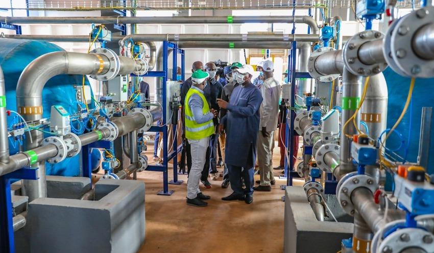 Incatema inaugura la planta potabilizadora de Kédougou en Senegal