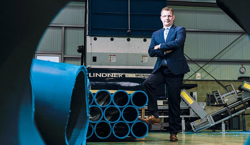 Lohner Kunststoffrecycling aumenta su capacidad con el nuevo sistema de corte de Lindner