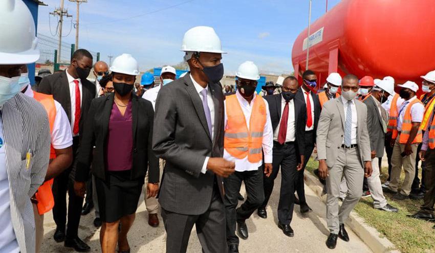 Inaugurado el depósito Vivy Mitchell en Puerto Príncipe, Haití