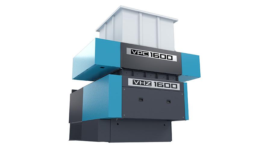 Vecoplan VPC 1600: la pretrituradora eficiente para palés