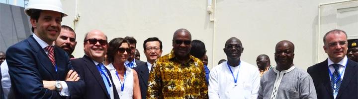 Abengoa inaugura la planta desaladora Accra Sea Water, la primera en el oeste de África