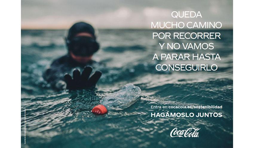 Coca-Cola presenta su compromiso por una sociedad más sostenible: 'Hagámoslo juntos'