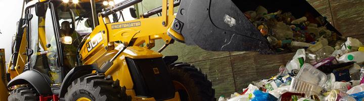 JCB participa en IFAT posicionándose en el sector residuos y reciclaje con productos específicos y soluciones innovadoras