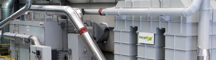 Tecam Group suministra a Witte y Solá un equipo de Oxidación Térmica Regenerativa para tratamiento de COVs