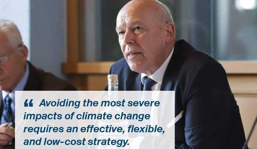 Jos Delbeke, primer presidente del BEI sobre clima en el Instituto Universitario Europeo