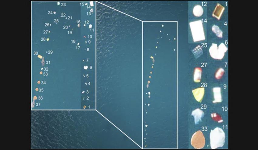 Así detectamos y contamos la basura que flota en el mar