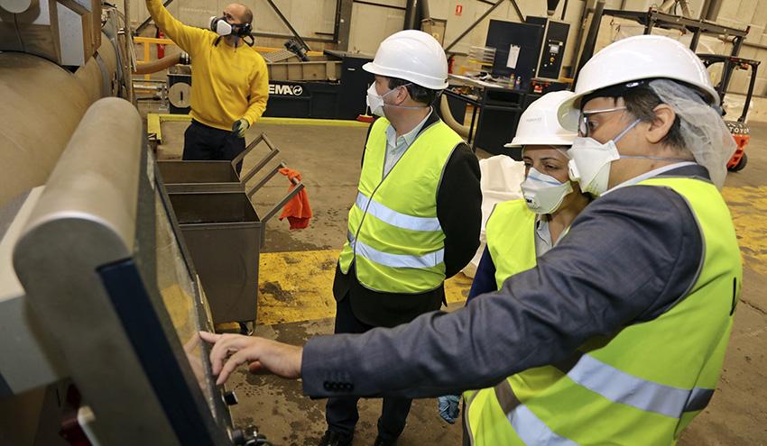 Galicia cuenta con una nueva planta para recuperar los materiales plásticos que recibe Sogama