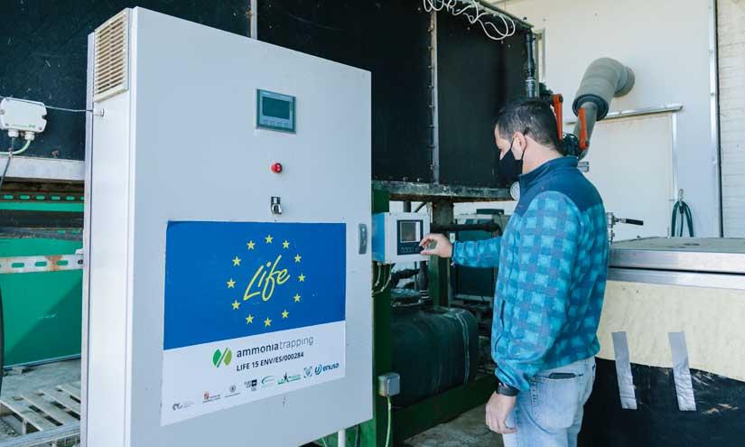 Científicos españoles diseñan membranas que transforman gas contaminante en abono