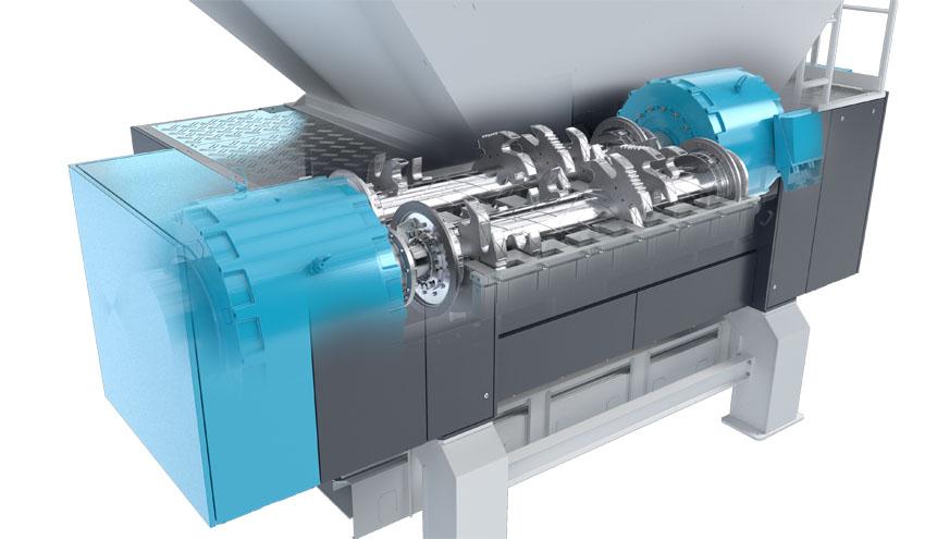 HiTorc de Vecoplan aumenta el rendimiento de las trituradoras de residuos
