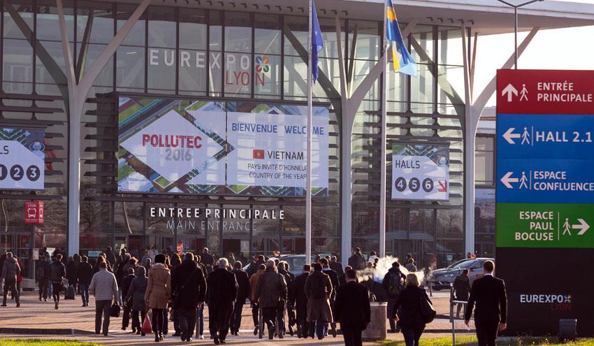 Innovación e internacionalización: Los dos marcadores relevantes de Pollutec 2016