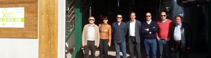 Empresarios del sector energético ucraniano se interesan en el modelo de la Red de Calor con Biomasa de Soria