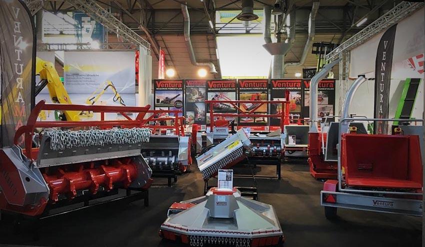 Ventura expone en EIMA su amplia gama de maquinaria forestal y de biomasa