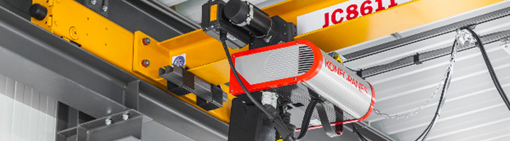 Konecranes aúna precisión, velocidad, ergonomía y seguridad en su nueva grúa con polipasto de cadena CLX