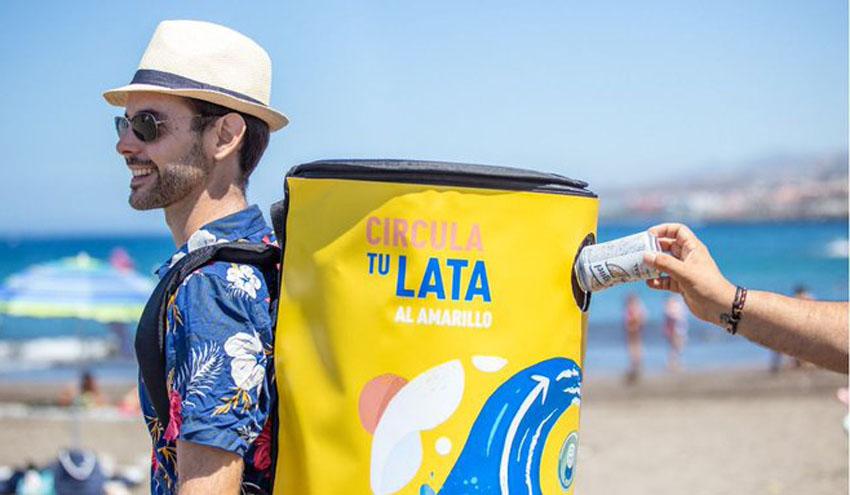 Cada Lata Cuenta y Estrella Galicia volverán a colaborar este verano para fomentar el reciclaje