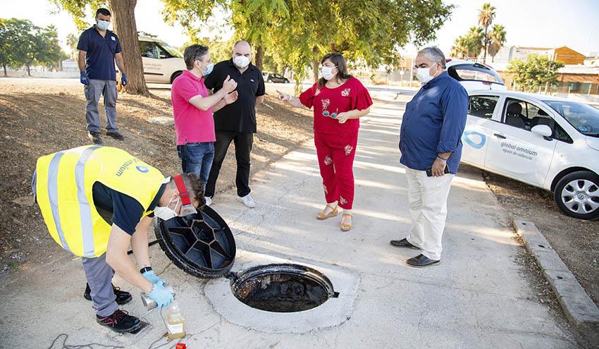 Alcasser continua rastreando las aguas residuales de todo el municipio en busca de SARS-CoV-2