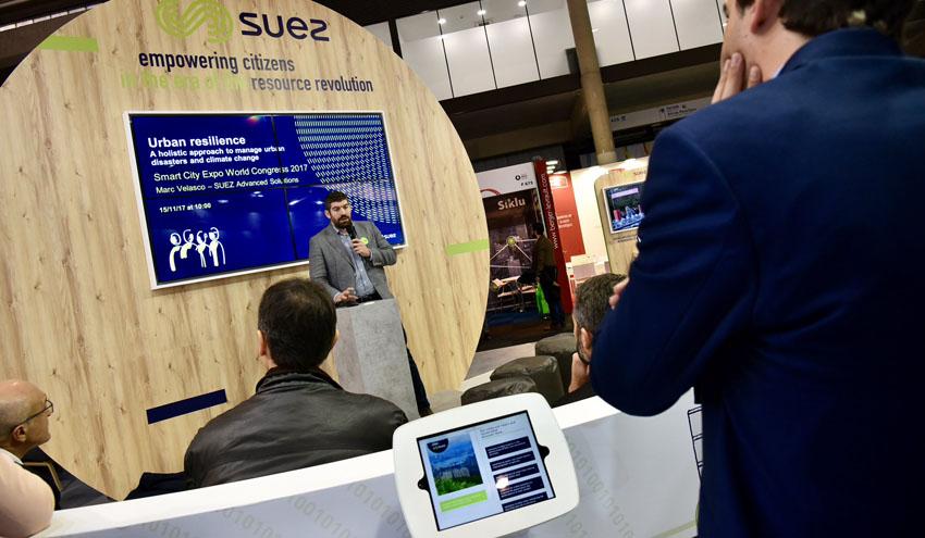 La economía circular, protagonista de las soluciones de SUEZ para smart cities