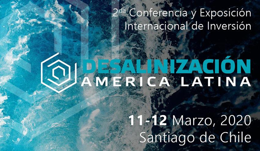 Más de 200 ejecutivos se reunirán en la II Conferencia Internacional de Inversión 'Desalinización América Latina'