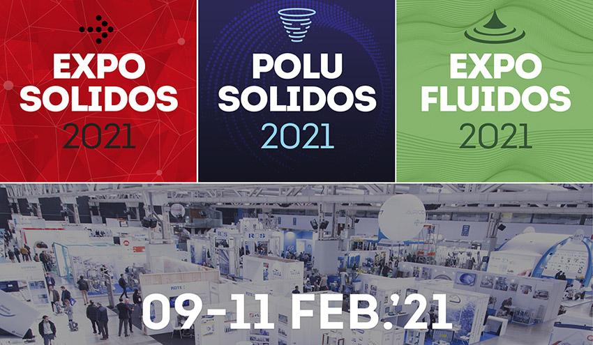 Las empresas apoyan el proyecto de EXPOSOLIDOS, POLUSOLIDOS y EXPOFLUIDOS 2021