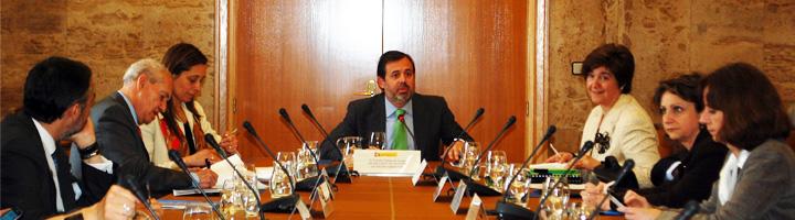 Federico Ramos preside el primer consejo de la nueva sociedad estatal de agua, Acuaes, fruto de la fusión de Acuanorte, Acuaebro y Acuasur