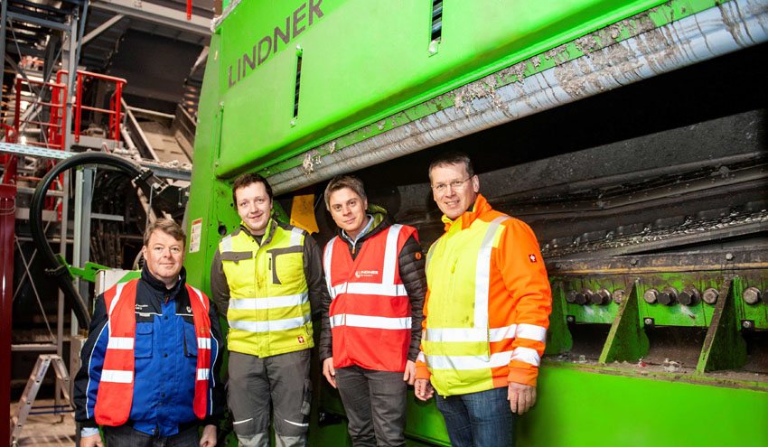 B + T Group utiliza trituradores Lindner para suministrar combustible de residuos a Deuna Zement GmbH