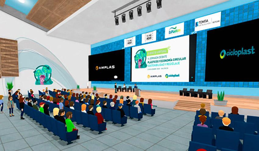La V edición de la jornada 'Plásticos y economía circular' contará con un innovador formato virtual