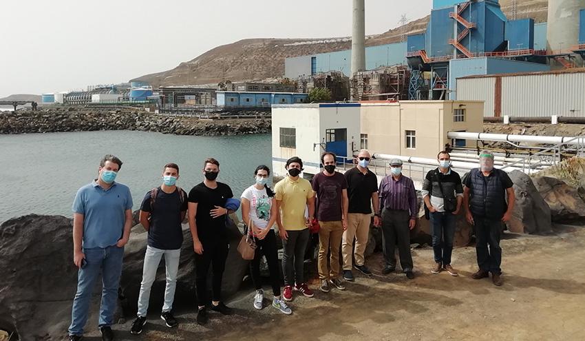 Una planta solar flotante para mejorar la eficiencia de la planta desaladora Las Palmas III de Gran Canaria
