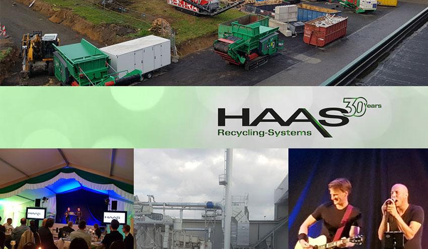 HAAS celebró su 30 aniversario en 2019
