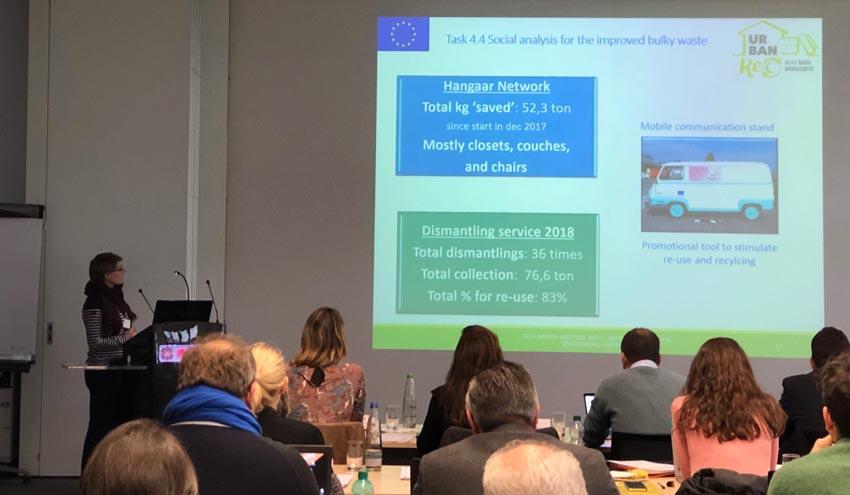 El CVI participa en Alemania en la presentación de los avances del proyecto Urbanrec