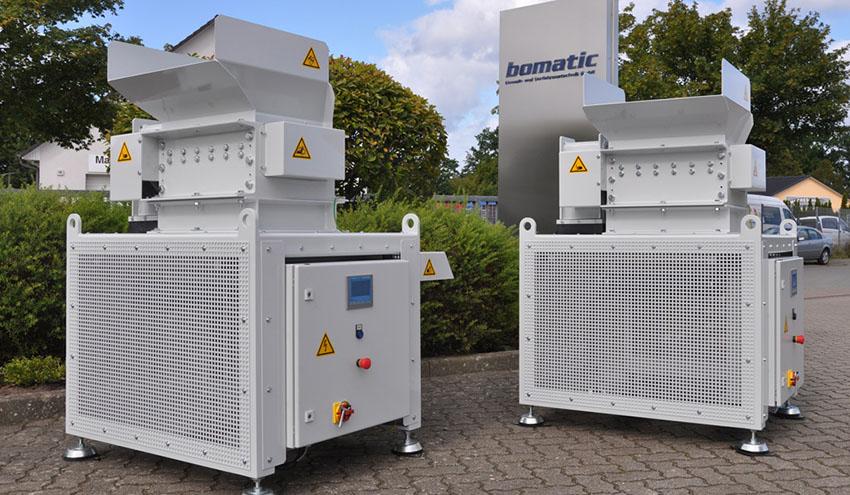 Trituración de Zinc con Bomatic B300