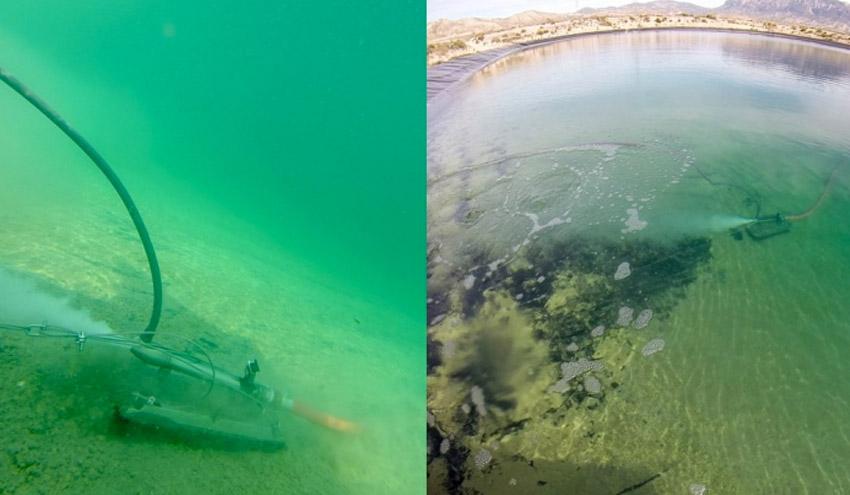 Aguas de Alicante desarrolla un novedoso sistema para almacenamiento de agua no potable