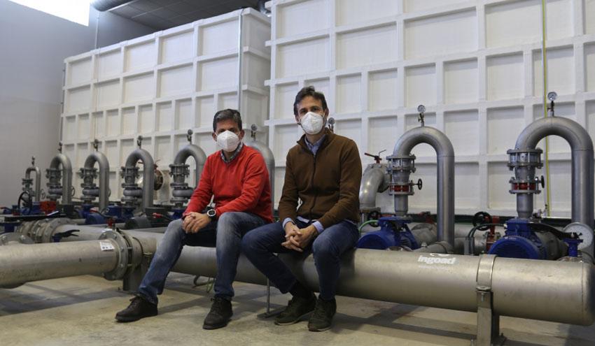 Tecnología 'low cost' que reduce el coste y la huella de carbono del riego a presión