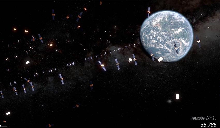 La ESA lanzará en 2025 la primera misión del mundo para eliminar desechos espaciales