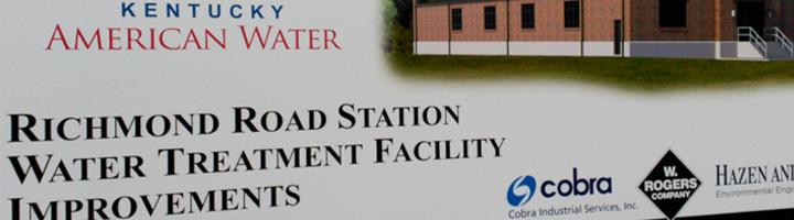 Tedagua construirá las nuevas instalaciones de filtrado de la planta potabilizadora de Richmond Road en Lexington (EEUU)