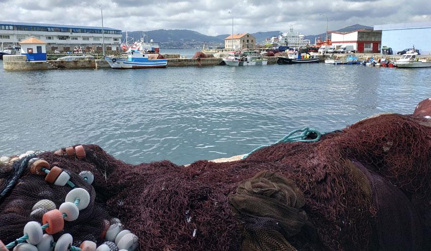 Primeras pruebas de reciclado para convertir las redes de pesca en nuevos productos
