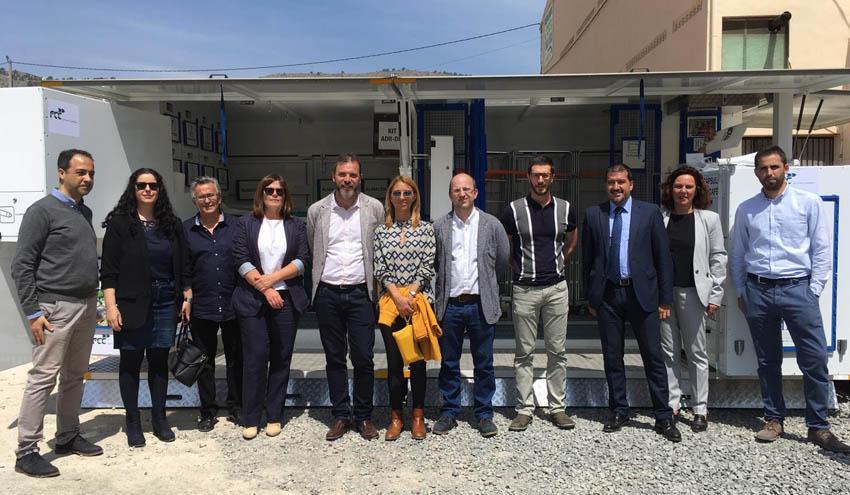 El Consorci Mare pone en marcha en el municipio de Orxeta el primer ecoparque móvil