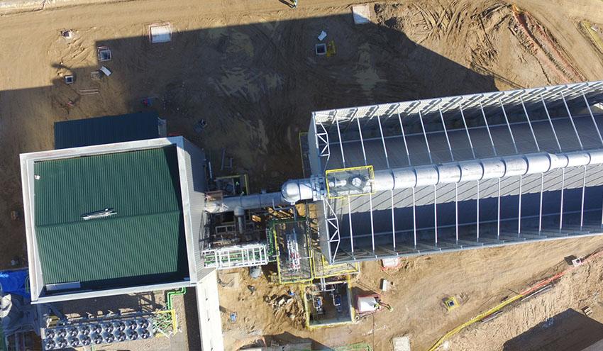 Elecnor desarrollará una planta de cogeneración de biomasa en Bélgica por 86 millones de euros