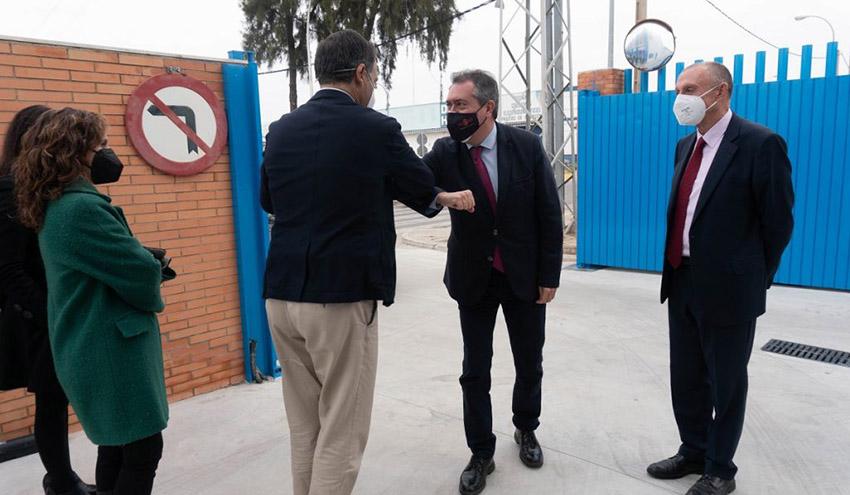 El nuevo Centro de Trabajo de Store de Emasesa acoge a parte del personal de Mantenimiento de Activos