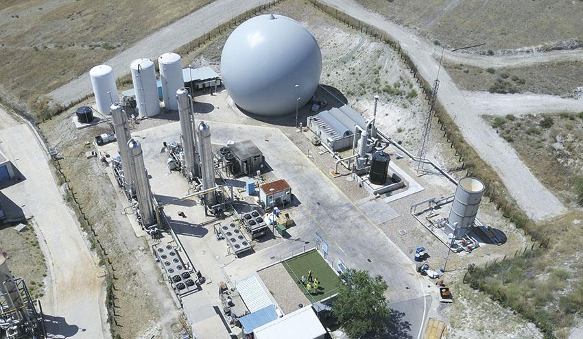Madrid busca soluciones innovadoras para valorizar el CO2 del biogás producido en Valdemingómez